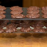 Remove cookies onto wire racks to cool completely.