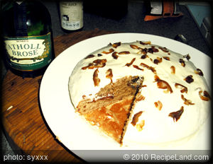 Boozy date and Coffee Cake