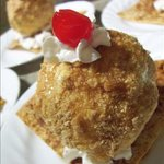 Cinnamon 'Fried' Ice Cream