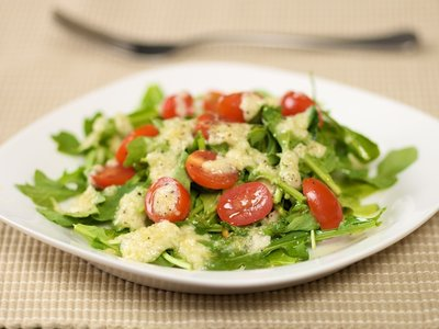 Arugula Salad With Lemon Parmesan Dressing