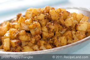 Parmesan, Paprika, and Herbs Roasted Potatoes
