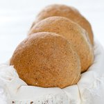 Nutty and delicious whole wheat buns!