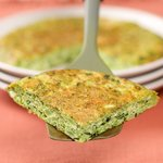 Basil and Broccoli Frittata