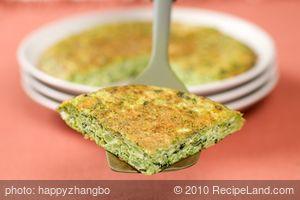 Basil and Broccoli Frittata