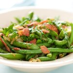 Bacon, Green Beans and Onions