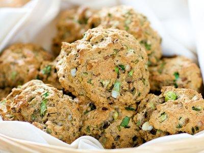 Scallion Biscuits