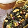 Spicy Steamed Mussels