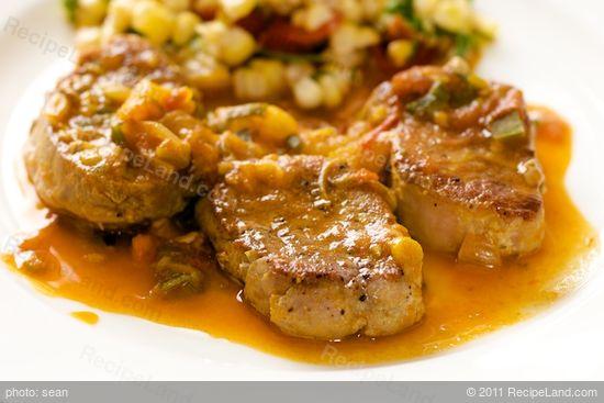 Sauteed Pork Tenderloin Medallions Recipe