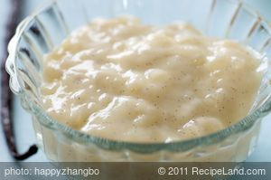 Vanilla Bean Tapioca Pudding