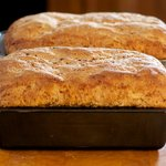 Bake the sandwich loaves for 30 to 35 minutes