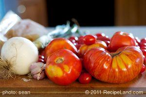Creamy Heirloom Tomato Soup (Creamless)