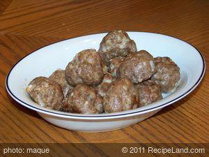 Easy Basic Meatballs