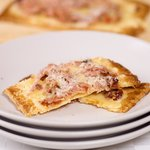 Fontina, Prosciutto and Sun-dried Tomato Tart