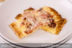 Fontina, Prosciutto and Sun-dried Tomato Tart