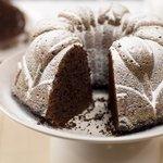 Chocolate Walnut and Flaxseed Bundt Cake
