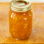 Here you have the homemade marmalade.