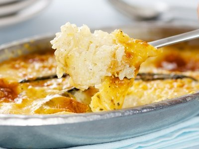 Baked Creamy Rice Pudding