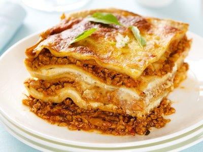 Best TVP Lasagna