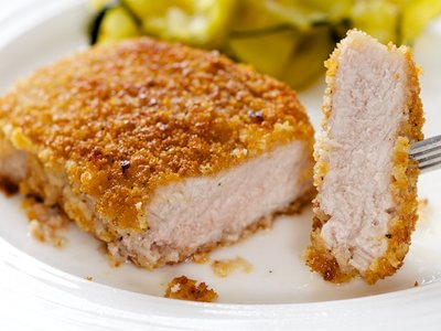 Quick Crispy Pork Chops