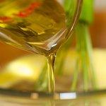 Pour in oil,