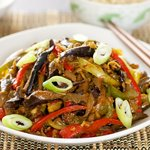 A classic Chinese sichuan stir-fry.