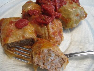 Savory Stuffed Cabbage Rolls (Golabki)