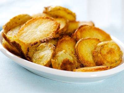 Super Crispy Oven Roasted Potatoes