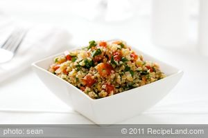 Tabouli (Bulgur Wheat Salad)