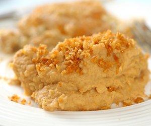 Garlic Topped Paprika Mashed Potatoes