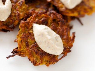 Sweet-Potato Fritters