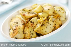 Crispy Sage Roasted Potatoes