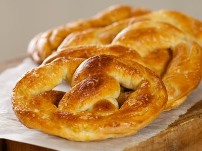 Hot Soft Pretzels