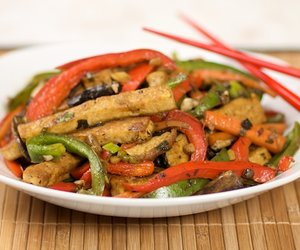 Chinese Style Sauteed Firm Tofu