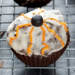 Halloween Chocolate Surprise Cupcakes