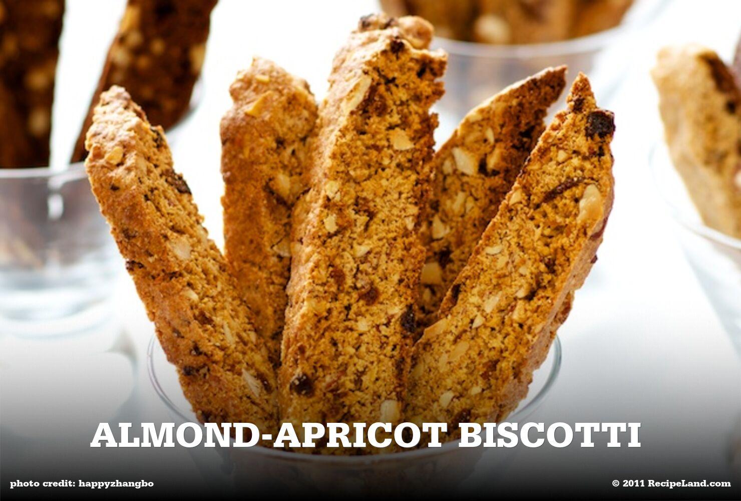 Almond-Apricot Biscotti