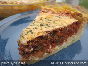 All Time Favorite Spaghetti Pie