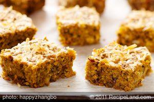 Pumpkin-Oatmeal Bars