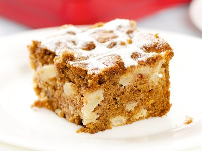 Fresh Apple Cake with Cream Cheese Frosting