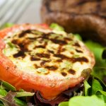 Chile-Cheese Stuffed Tomatoes