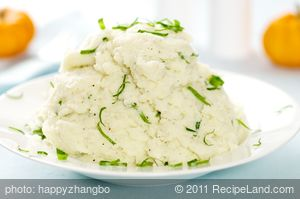 Buttermilk Wasabi Mashed Potatoes