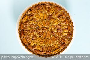 Triple Pecan Pie with Maple