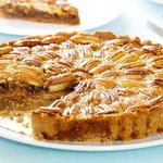 An absolutely delicious pecan pie.