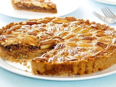 Triple Pecan Pie with Maple