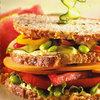 Smoked Gouda Veggie Club Sandwich