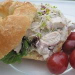 Chicken Salad Contessa on a Croissant