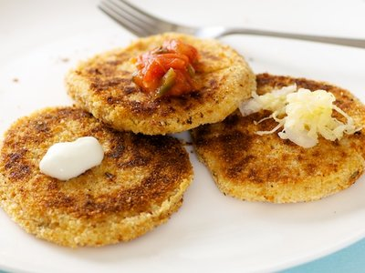 Leftover Mashed Potato Pancakes
