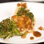 Broccoli and Cauliflower Satay