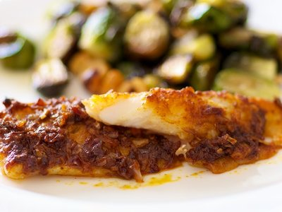 Broiled Cod with Paprika