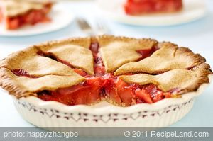 Cranberry Pear Pie