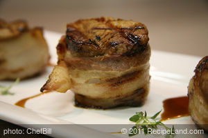 Earth Family Bacon-Wrapped Tenderloin